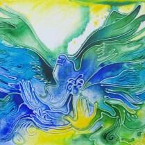 Freedom, 50x70 cm, acryl, canvas, cardboard, 2012