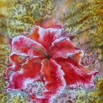 Lace vision, 71x48 cm, combined technique (watercolor, pencil)