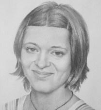 Portrait, pencil
