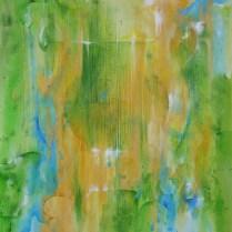 Lyre, 64x54 cm, acryl, canvas, 2008