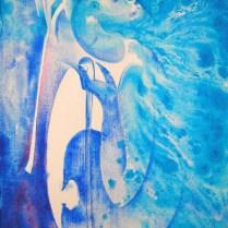 Sonnet, 70x50 cm, acryl, canvas, 2006