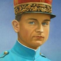 Stefanik, 80x60 cm, oil, canvas. Fragment