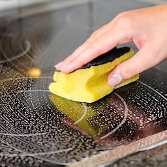 Nettoyage de plaque vitro céramique
