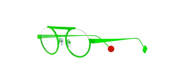 Be Mood Slim vert fluo satin - vue de biais
