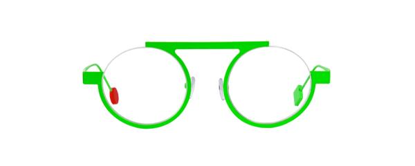 Be Mood Slim vert fluo satin - vue de face