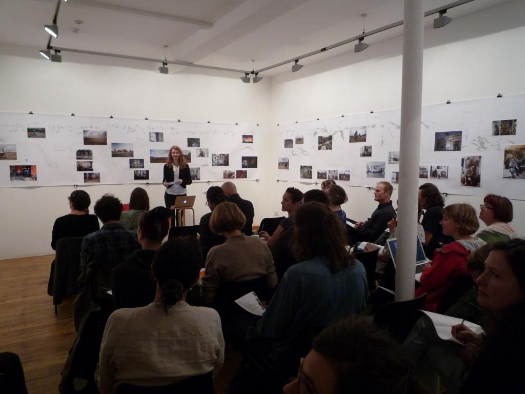 Susan presenting professional development workshop at Four Corners Film + Video
