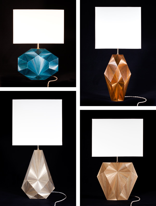 Jallu straw marquetry radiant_lamps