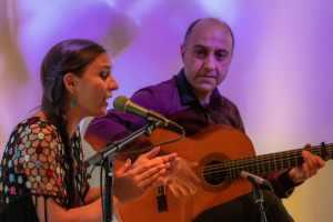 Duo met flamencozang