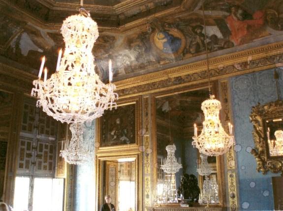 Lustres du château de Vaux le Vicomte