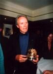 Clint Eastwood avec le Prix du Carrosse d'or 2003
