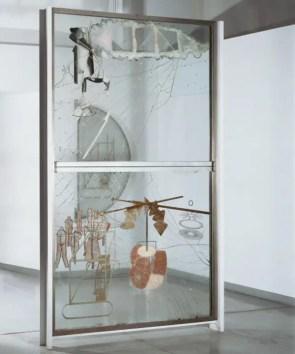 Resultado de imagen de duchamp el gran vidrio
