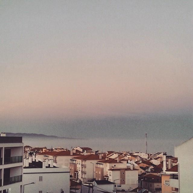 Nascer do dia na #ericeira #nevoeiro #fog