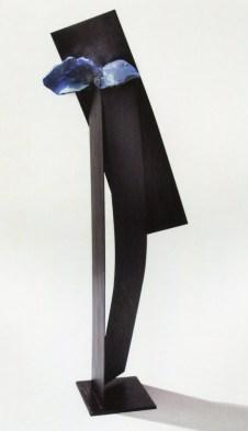 CLAUDIO PALMIERI - Fiore di magma, 2007, tecnica mista su tavola, 150x150cm