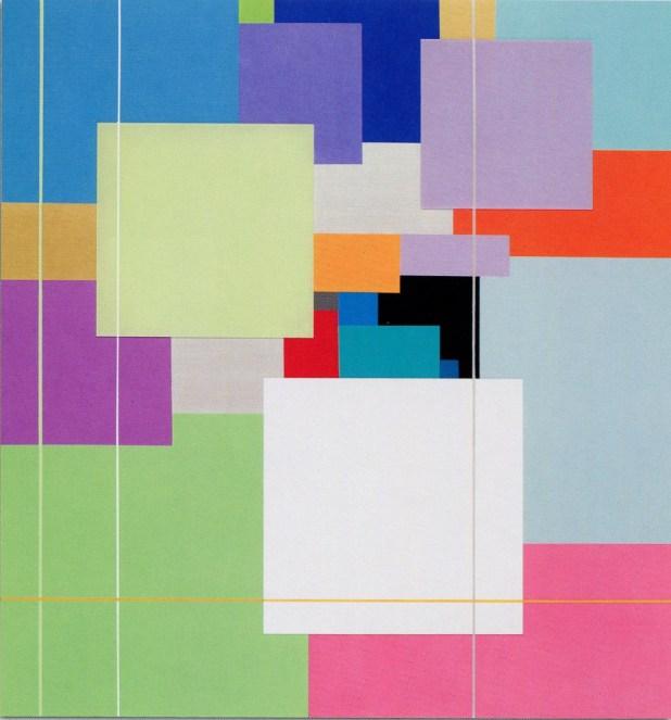 MARCO CASENTINI - Lontano da dove, 2008, acrilico e plexiglas su tela, 140x130cm