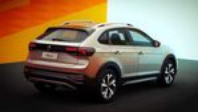 El Volkswagen Nivus se venderá en la Argentina con un motor naftero 1.0 litros turbo de tres cilindros. Foto: VW.
