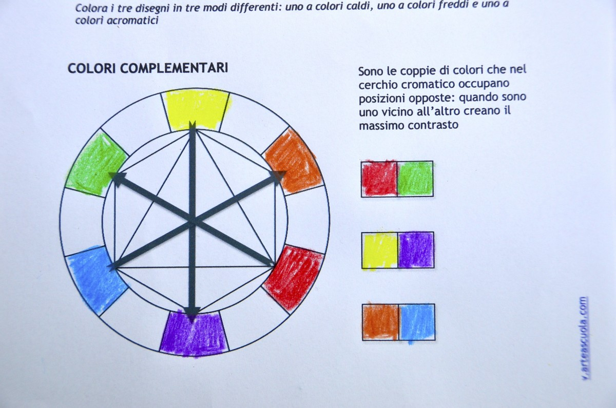 Color Theory Worksheets And Video Tutorial