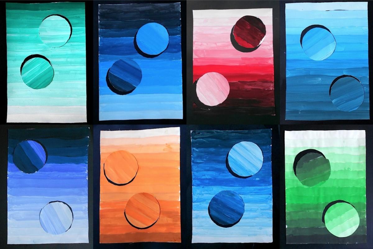 Tonal Gradation With Circles