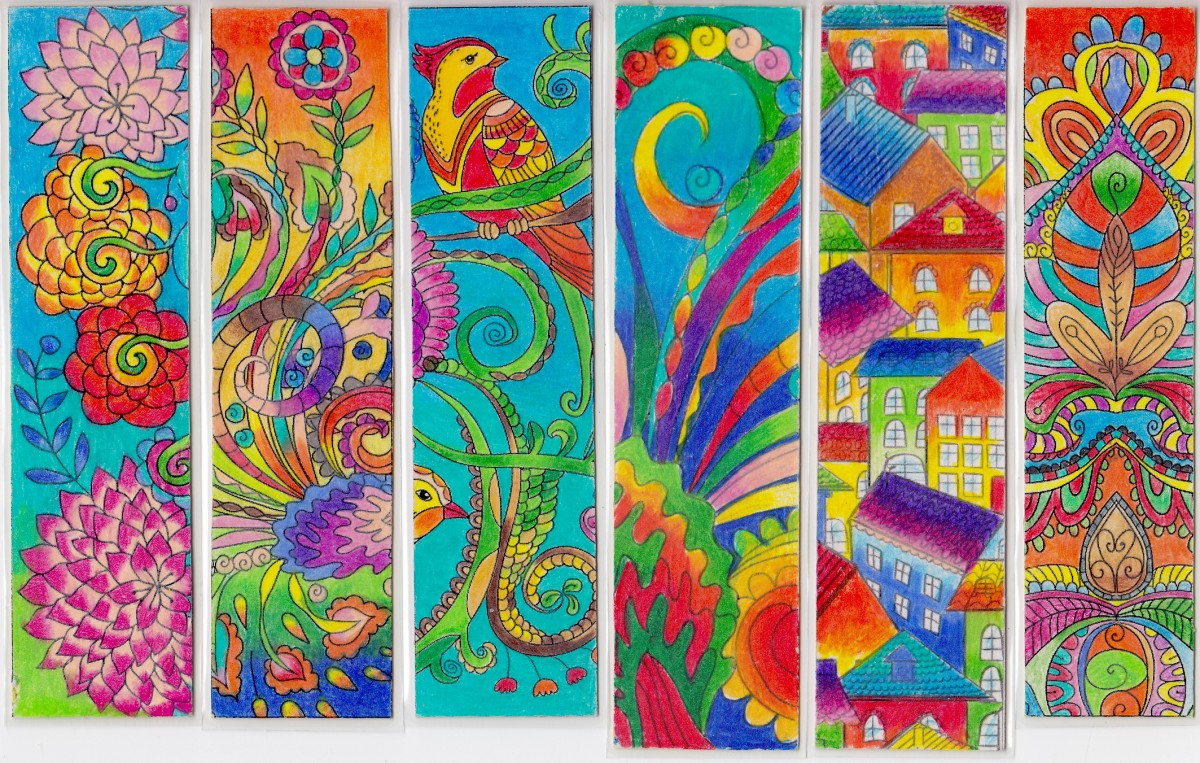 A Post For You Colorful Bookmarks