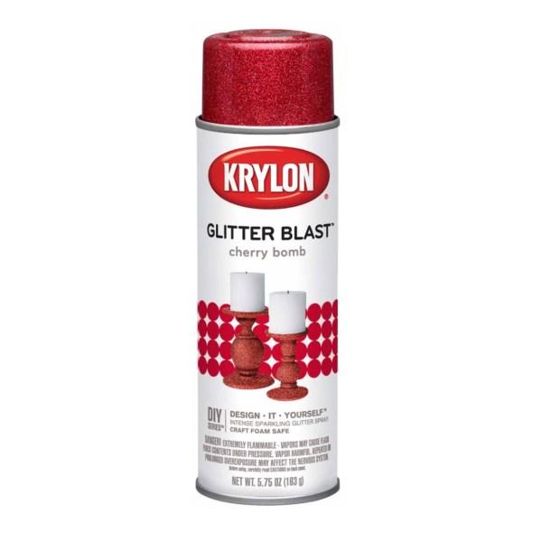 Krylon Glitter Blast - Cherry Bomb