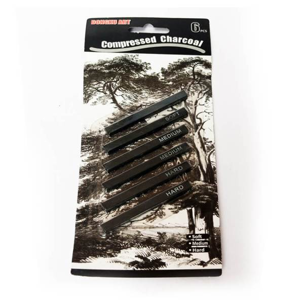 compressed charcoal