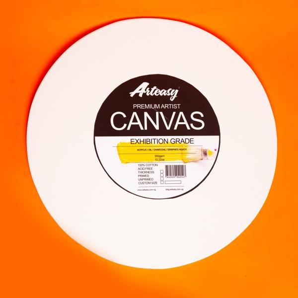 Arteasy circular canvas