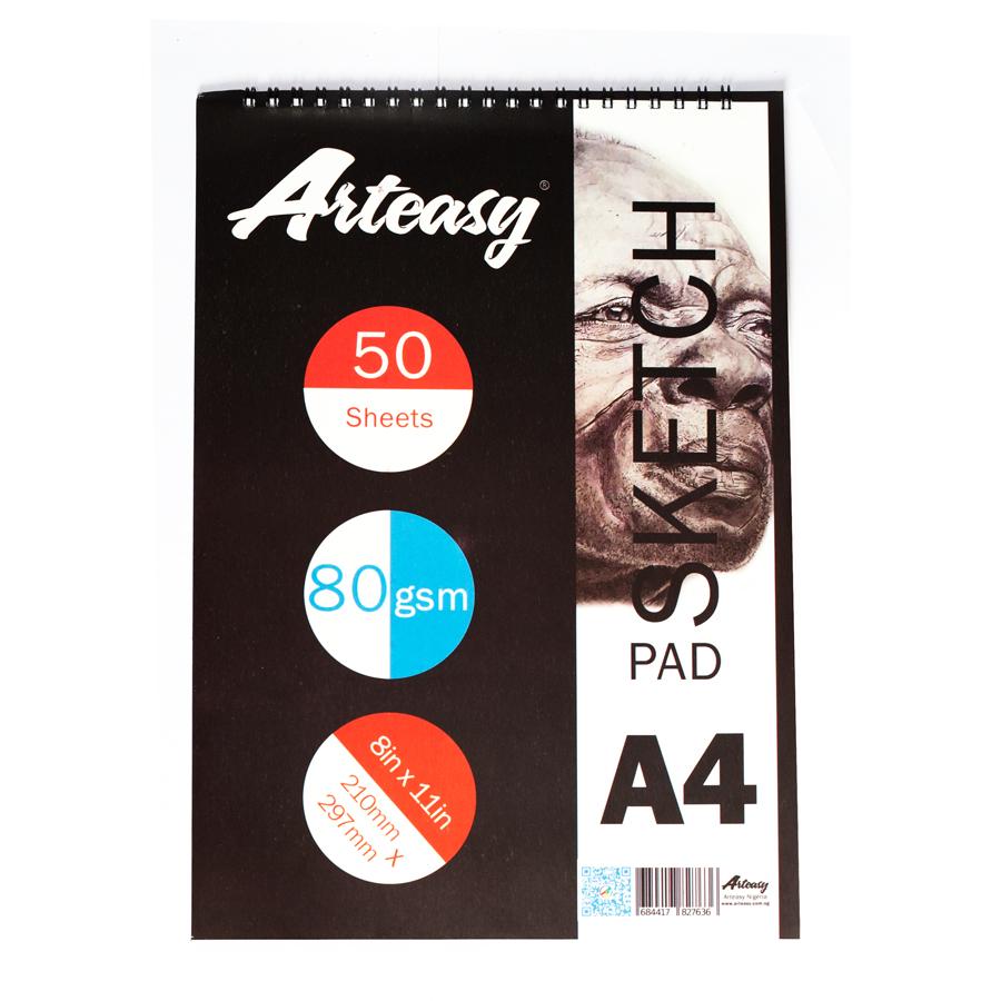 Arteasy Sketchpad A4 50sheets