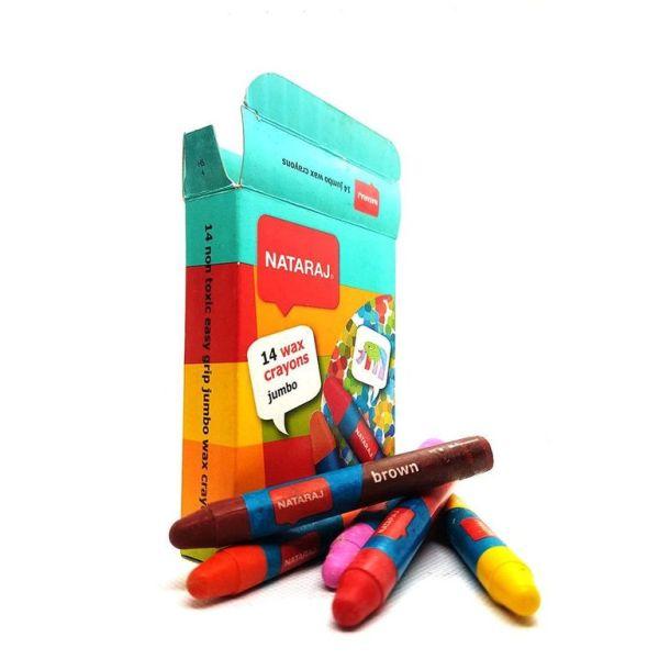 Nataraj jumbo wax crayons
