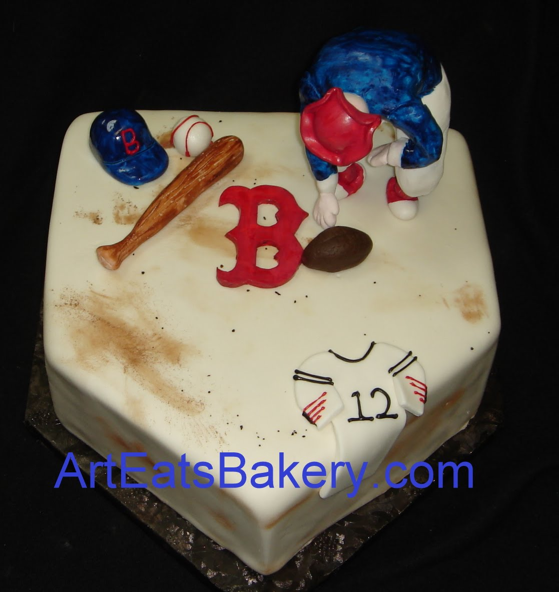 Sports Themed 3d Cakes For Men And Boys