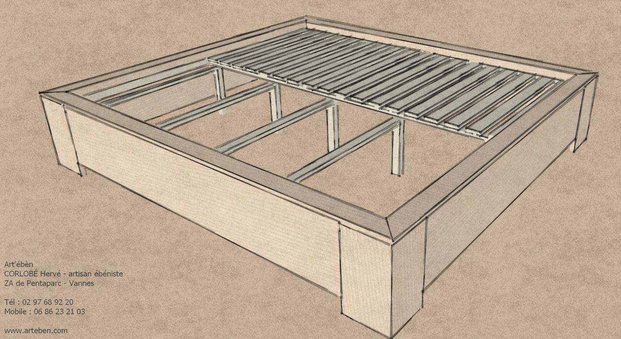 lit pour tatami et futon art eben