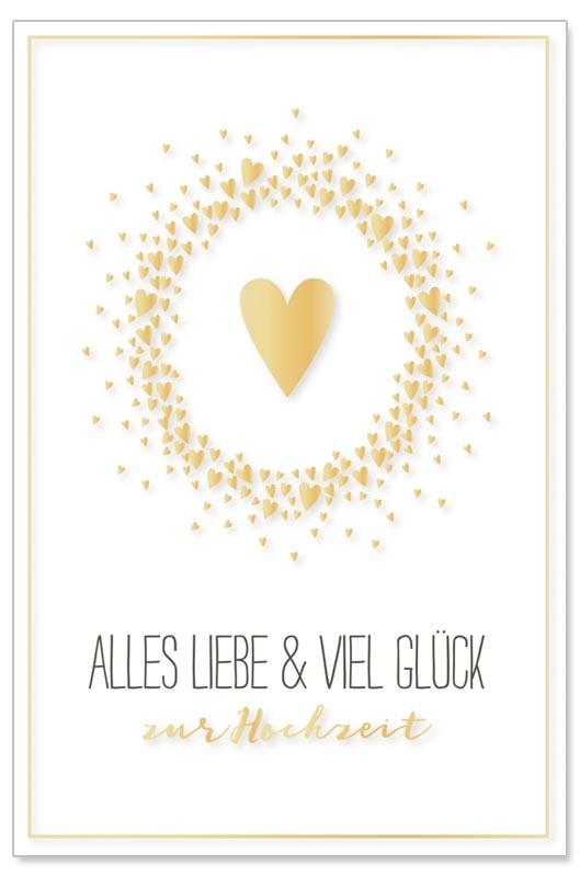 Hochzeitskarte Aus Handgeschopftem Buttenpapier Paper Party De