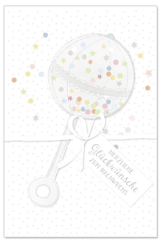 Mit Kreativen Karten Gluckwunsche Zur Geburt Uberbringen Geschenke De