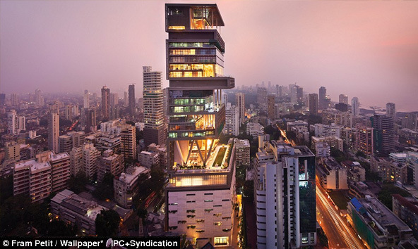 World's Largest and Expensive Home - Antilla