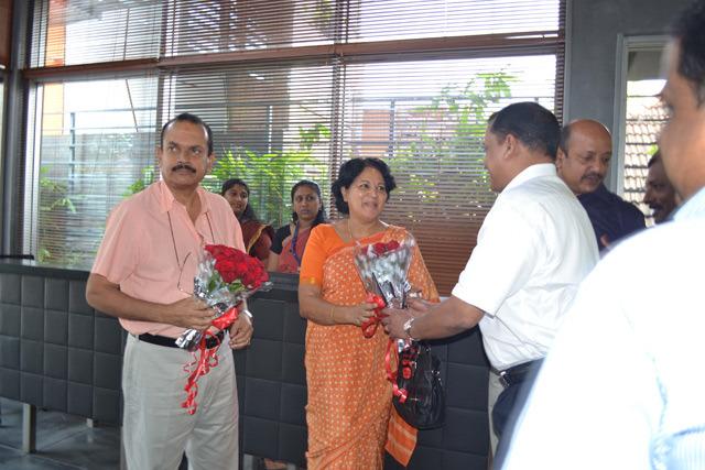 Shri Moolam Thirunal Rama Varma VI visits Artech Office