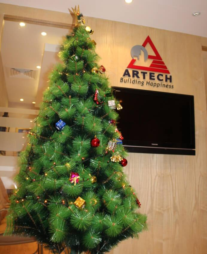 Artech Wishes Merry Christmas and a Happy New Year to All