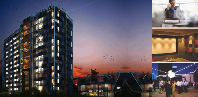 Artech Gateway Thrissur Night View