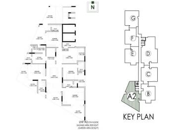 Artech Rainforest, Jawahar Nagar - Layout