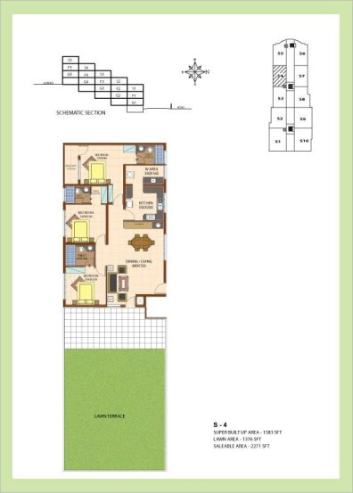 Artech Srirema, Trivandrum Layout : Plan-S4