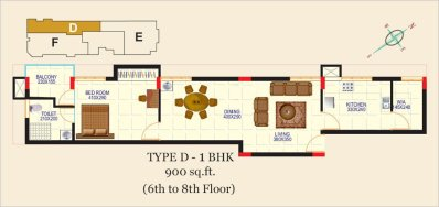 Artech Alliance, Sreekaryam Layout Type - D2