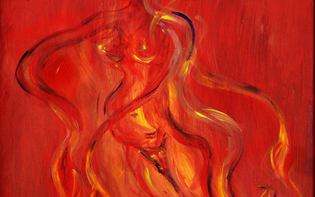 Abe Kamui – Japanische Göttin des Feuers, der Feuerstelle, des Herdfeuers
