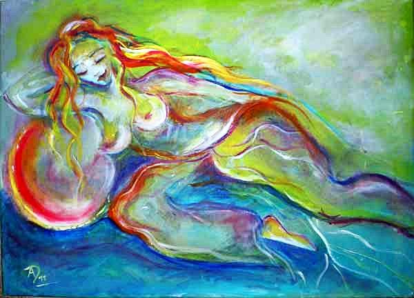 Aergia – Griechische Göttin der Faulheit, der Trägheit und des Müßiggangs