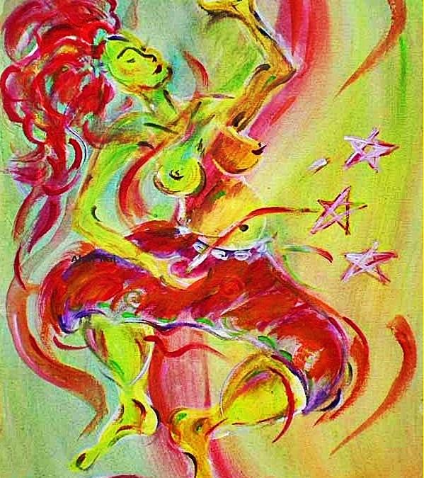Ahnt Kai – Mexikanische Göttin der Musik, des Tanzes und des Gesanges