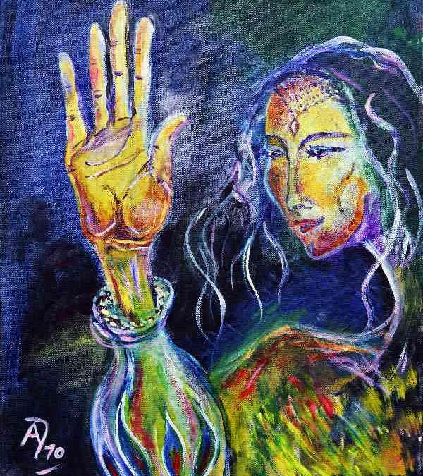 Fatima – Arabische Mond- und Schöpfungsgöttin