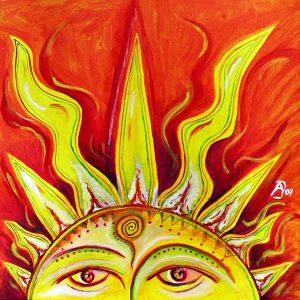 Saule – Baltische Sonnen- und Himmelsgöttin