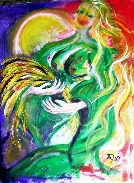 Taillte – Irische Göttin der Fruchtbarkeit und des ersten Getreides bei der Ernte