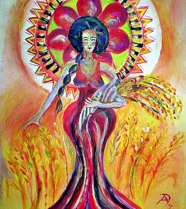 Karpo – Griechische Göttin der gereiften Früchte und der Ernte