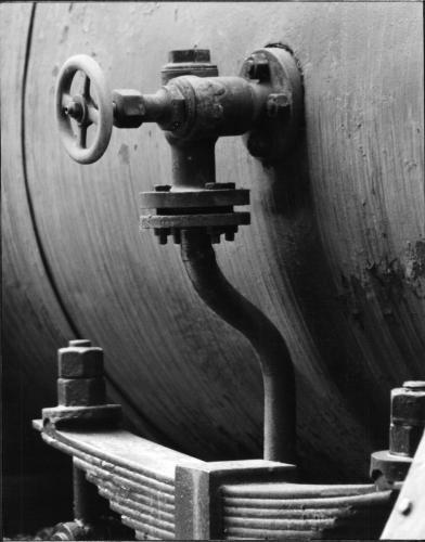 Parte di antica locomotiva 1985