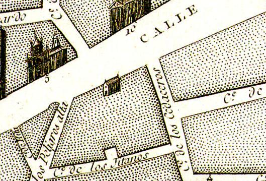 Plano de Chalmandrier, 1761.