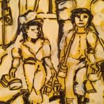Mujeres y los tren