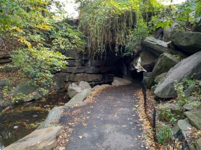 Senderos en el norte de Central Park