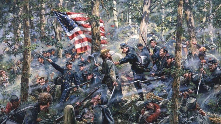 La batalla de Gettysburg (Don Troiani)